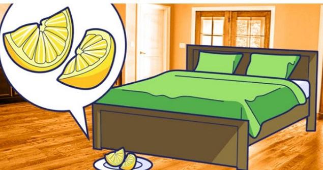 Her Gece Yatağın Altını 1 Dilim Limon Koyarsanız