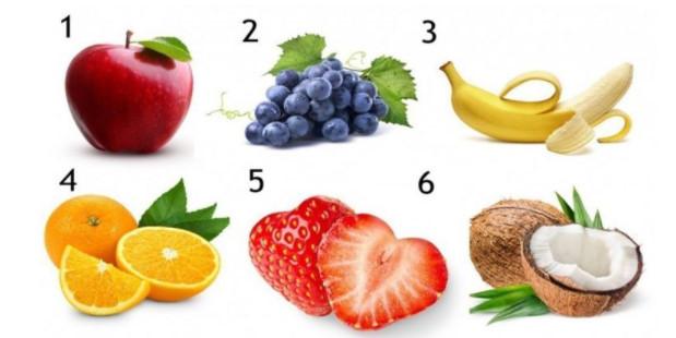 Sevdiğiniz Meyve Kişiliğinizi Belirliyor