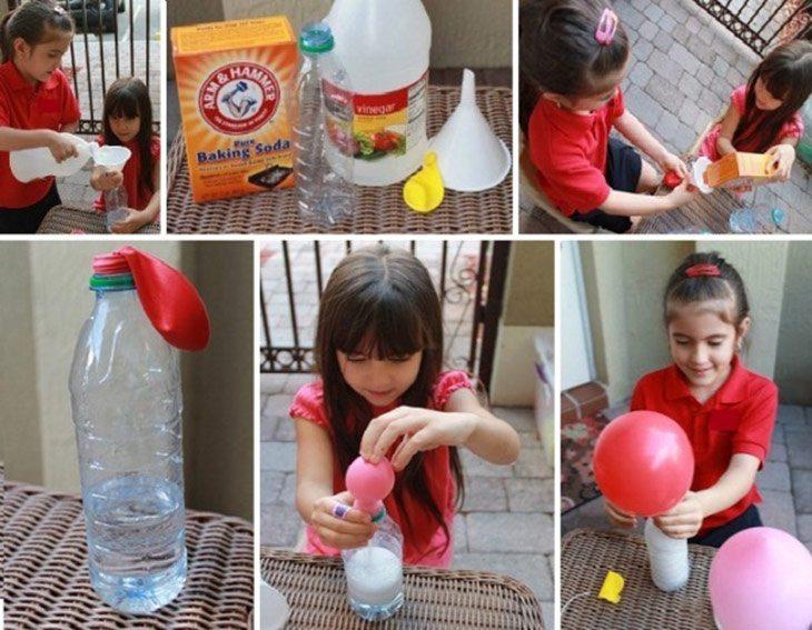 Evde Helyumsuz Uçan Balon Yapılışı...