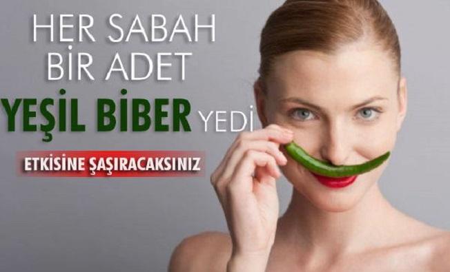 Yeşil Biber Mucizesi!!! Etkisine İnanamayacaksınız