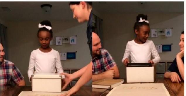 Evlatlık Olduğunu Öğrenen Minik Kızın Verdiği Tepki Milyonları Ağlattı