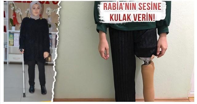 Rabia Koşabilmek için Yardımlarınızı Bekliyor