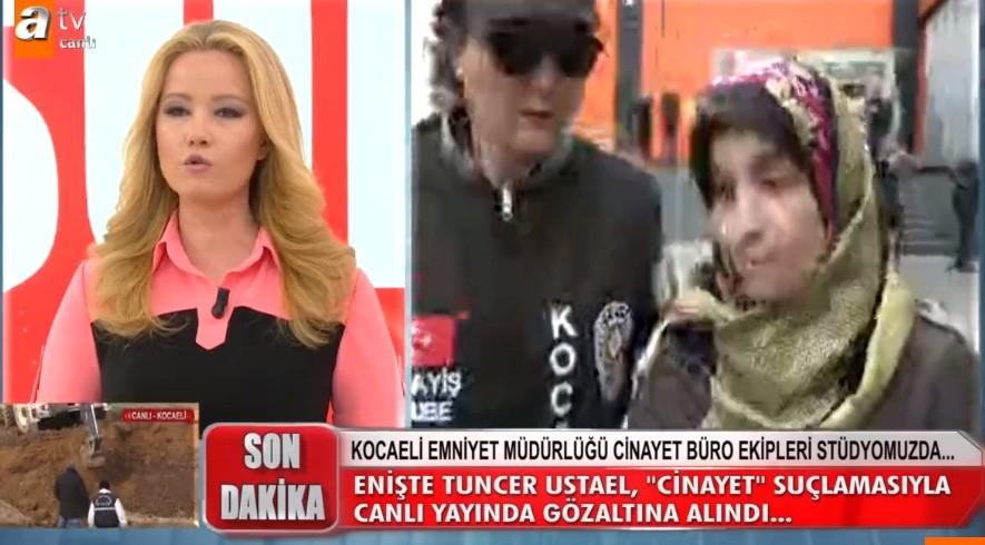 Canlı Yayında Şok! Tuncer ve Emine Usluel Gözaltına Alındı.