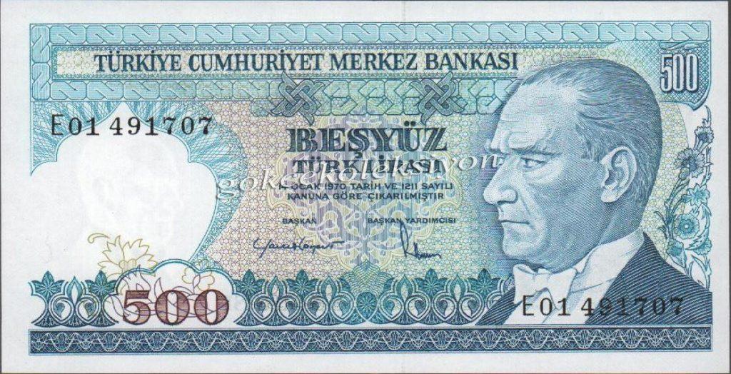 Bugün 500 ve 1000 Liralık Banknotlar Tedavüle Girdi