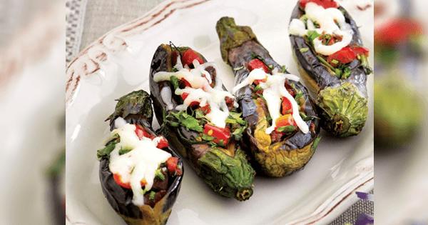 Pastırmalı Mini Patlıcan Tarifi