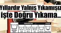 Çamaşır Makinesi Sembolleri Ne Anlama Geliyor? Kıyafet Yıkama Talimatları...