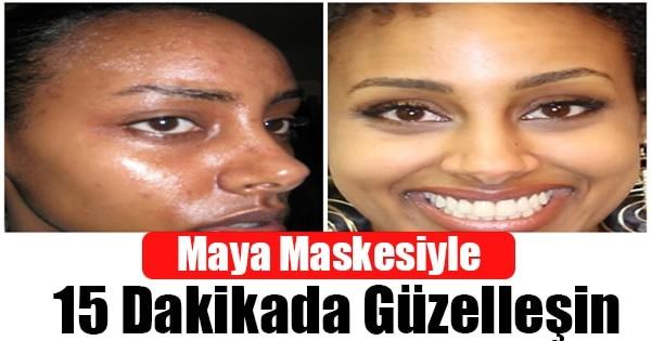 Maya Maskesi ile 15 Dakikada Güzelleşin