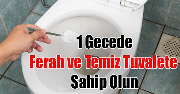 Tuvaletiniz Temiz ve Ferah Kokmasını Mı İstiyorsunuz O Halde…