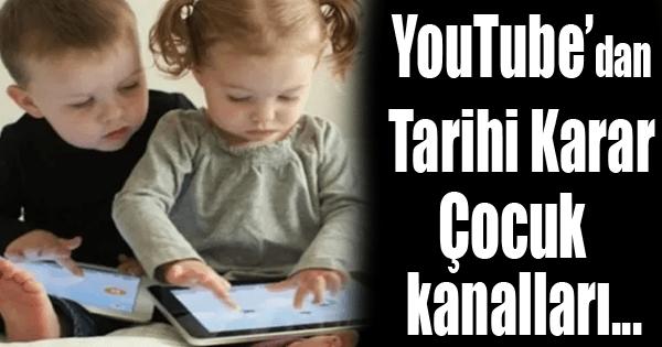 Youtube Çocuk Kanallarını…