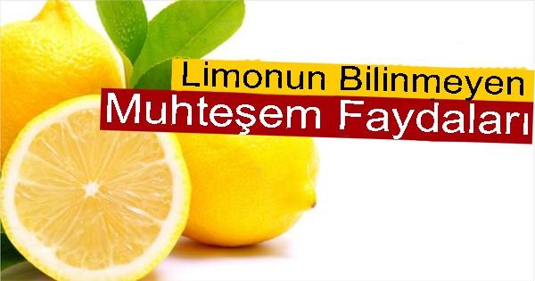 Limonun Şaşırtan Faydaları !