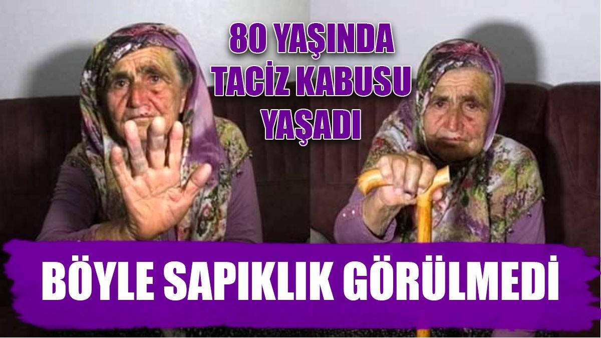 80 yaşındaki kadını taciz etti, serbest kaldı