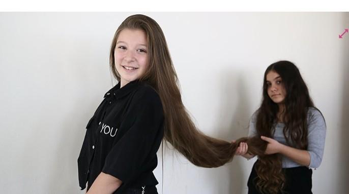Sacı, ile boyu aynı uzunlukta