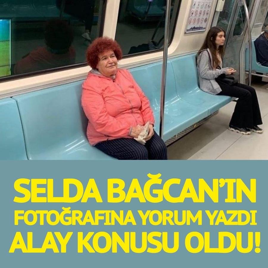 Selda Bağcan'a yorum yaptı. Alay konusu oldu