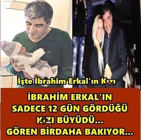 İbrahim Erkal'ın 12 günlük olan kızı büyüdü