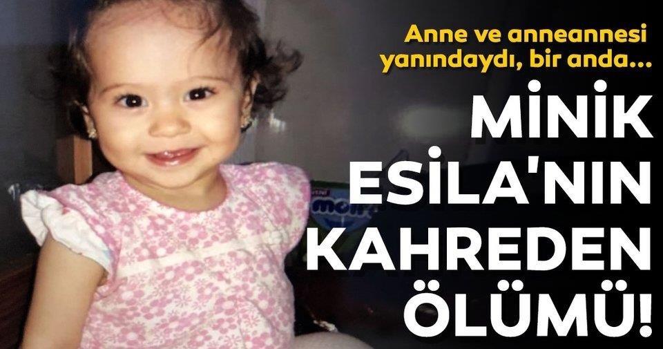 Annesinin elinden kaçan 3 yaşındaki Esila