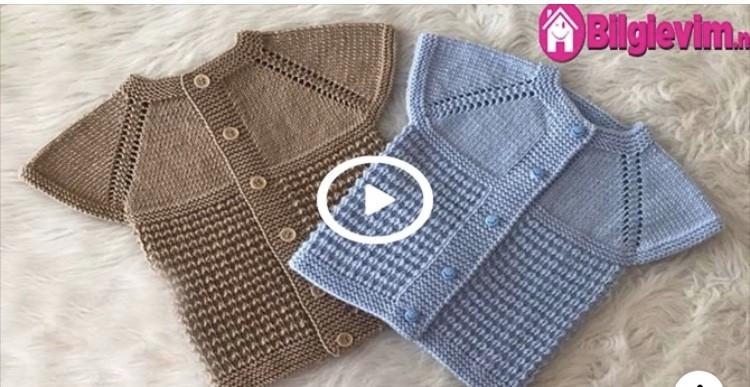 Yeni Başlayanlar için Bebek Yeleği Videolu Anlatım
