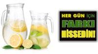 Limonlu Suyun Faydaları Saymakla Bimiyor