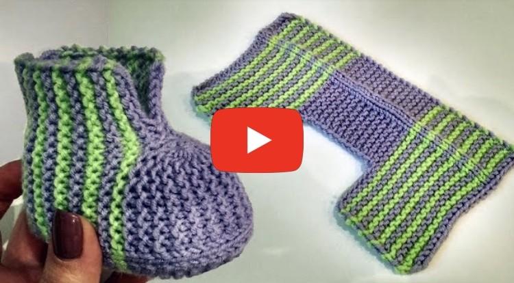 Kolay Bebek Patiği Modelleri Videolu Anlatım