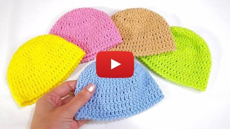 10 Dakikada Bebek Şapkası Yapılışı