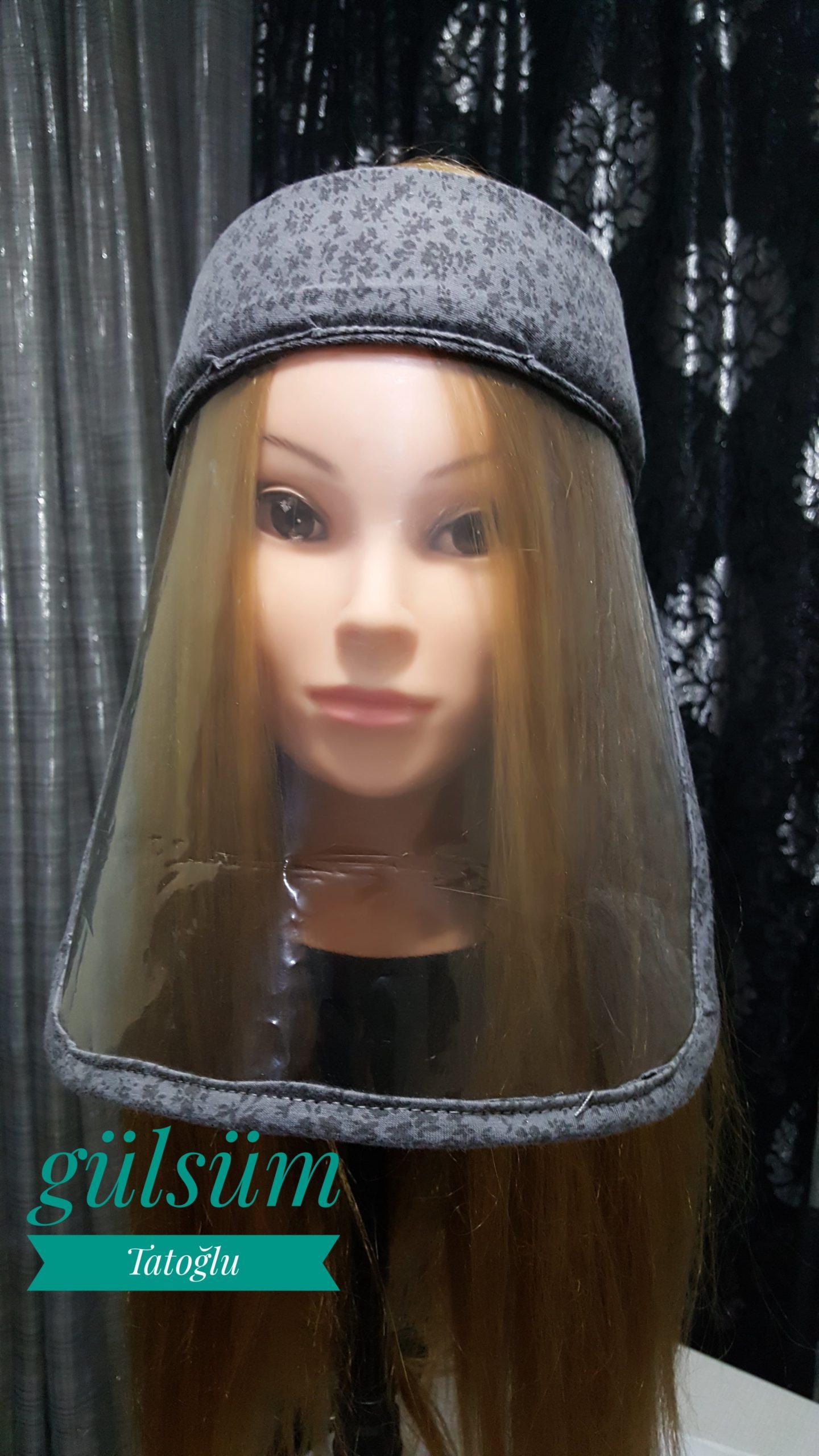 DIY/ FACE SHIELD MASK / YÜZ KALKANI MASKESİ NASIL YAPILIR? #yüzkalkanı, #faceshieldmask, #howtomake