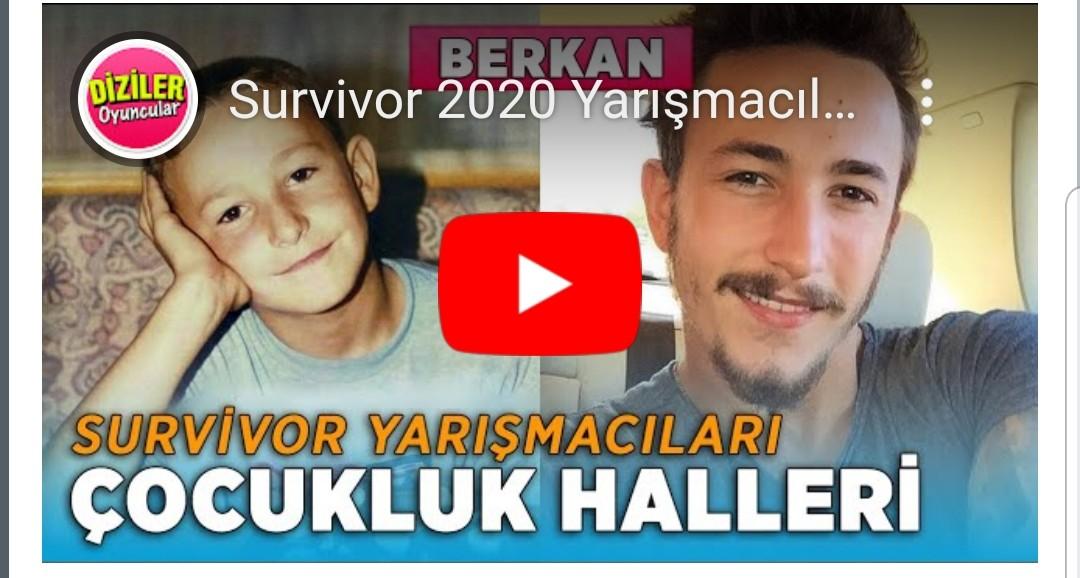 Survivor 2020 Yarışmacıları Çocukluk Halleri