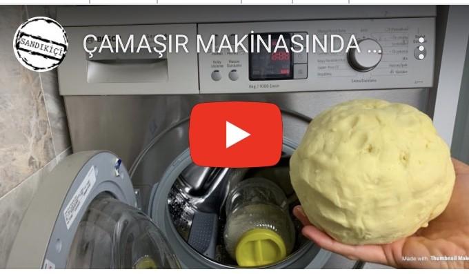 Çamaşır Makinesinde Tereyağ Yapılışı
