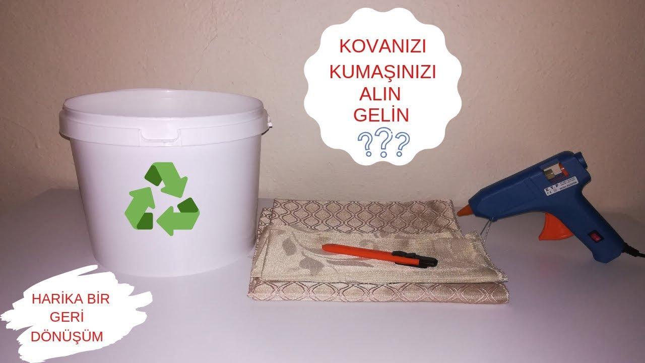 KOVADAN GERİ DÖNÜŞÜM NASIL YAPILIR-Kendin Yap- Recycle-Do İt Yourself