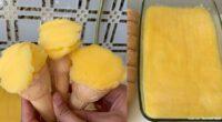 3 Malzeme ile Portakallı Dondurma