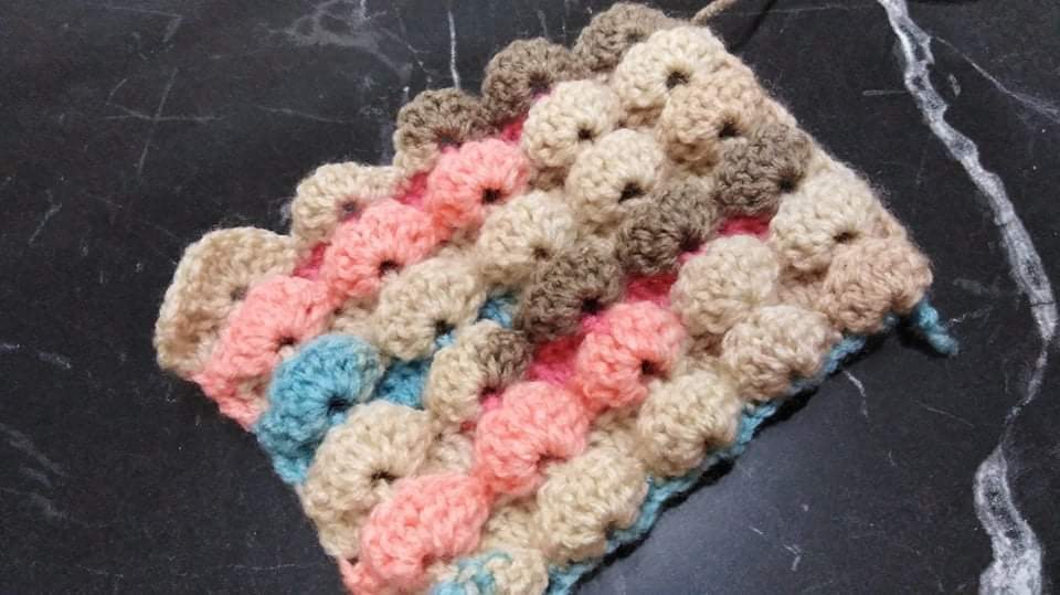 Batik istiridye Örgü Modeli