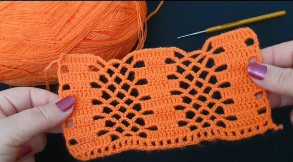 Tığ işi Bebek Battaniyesi, Örgü yelek modeli