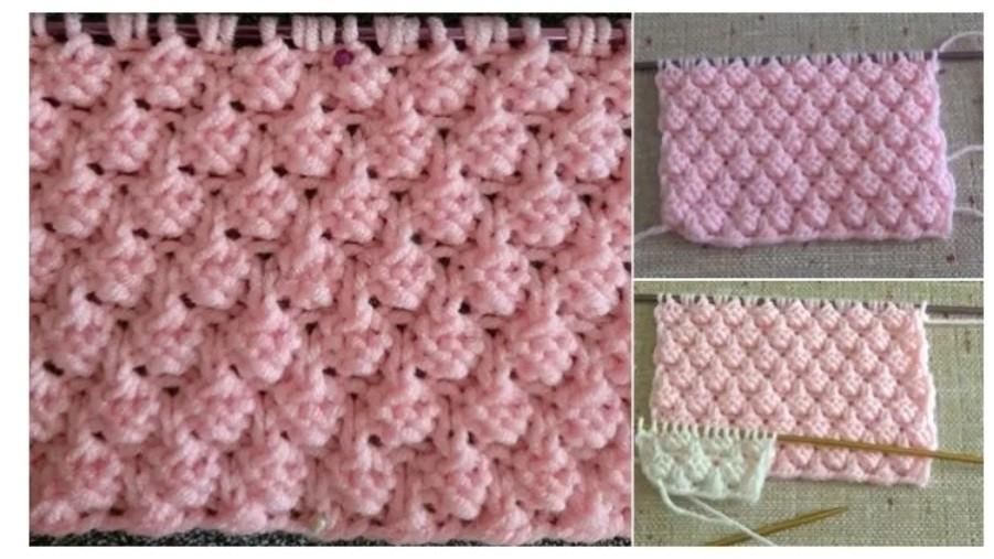 Böğürtlen yelek Örneği how to knitting